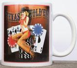 Mug Texas Hold'Em Pinup