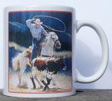 Mug Cowboy Working