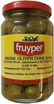 Fruyper Grüne Oliven kernlos