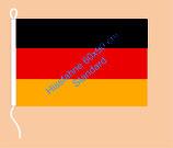 Deutschland / Hißfahne im Querformat