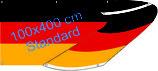 Deutschland / Spannband (Transparent)