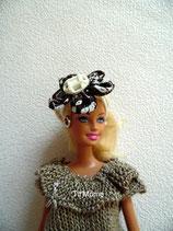 Pantalon, haut et serre-tête pour poupée Barbie