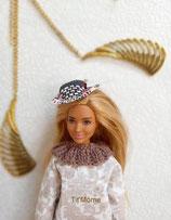 Pantalon et haut pour poupée Barbie ronde