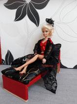 Déshabillé, short et bustier pour poupée Barbie