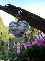 Spring Key Ring Heart