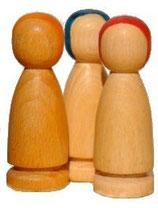 """1 Stück, Figuren """"Menschform"""", 7,4 cm"""
