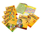Jolly Phonics Activity Books 1-7 US in print letters(US版ブロック体)