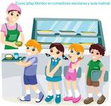 Monitor/a de atención al alumnado en comedores escolares (60 horas)