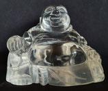Buddha aus Bergkristall