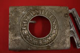 WW2 German aluminum Belt Buckle #2