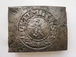 WW2 German steel Belt Buckle #7