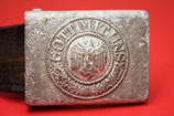 WW2 German aluminum Belt Buckle #3