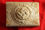 WW2 German POLICE aluminum Belt Buckle #1