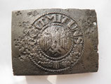 WW2 German steel Belt Buckle #10