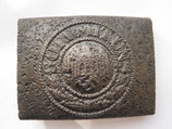 WW2 German steel Belt Buckle #4