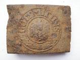 WW2 German steel Belt Buckle #11