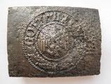 WW2 German steel Belt Buckle #8