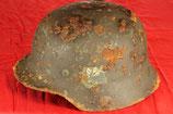 German M40 single decal Helmet (signed)