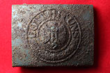 WW2 German steel Belt Buckle #1