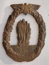 WWII German Kriegsmarine Minesweeper's war badge