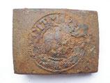 WW2 German steel Belt Buckle #13