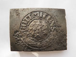 WW2 German steel Belt Buckle #12