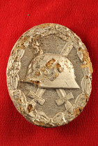 German Wound Badge Silver #17