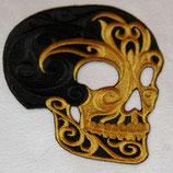 Skull schwarz /gold
