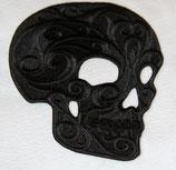 Totenkopf schwarz