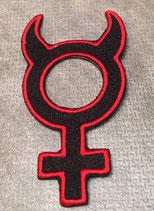 Weiblich Zeichen Teufel