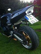 Heckunterverkleidung Kawasaki ZX12 R + LED + Halter Neu