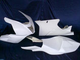 Rennverkleidung Aprilia RSV Mille 1000 04-08 mit Höcker