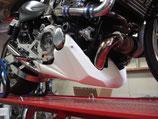 Bugspoiler Motorspoiler Honda X4 CB1300 mit Universalhaltesatz