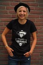 Caramba T-Shirt Gorilla Girls Schwarz