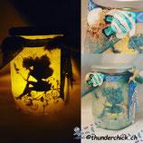 Fairy-Light blau