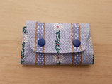 mini Portemonnaie Edelweiss blau