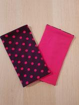 Armstulpen Violette / Punkte Pink