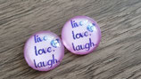 Statement Ohrringe live Love Laugh