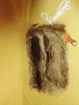 タヌキ毛皮の腰皮