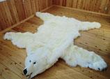 オリジナルムートンラグ白熊