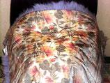 商品名:羊毛ムートンひざ掛け紫色