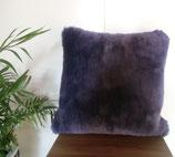 商品名ムートンクッション⑥紫色