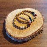 Aroma-Armband Paare_Jaspis_Opal_Tigerauge