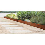 Bordure Corten per aiuole sp 1,5 mm