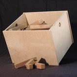 Bauklötze mit Kiste