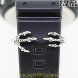 [送料無料]G-SHOCK,カスタムパーツ  G-SHOCK ベビージー ジーショック カスタム パーツ 腕時計 カスタム シルバー CROWNCROWN parts-052