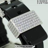 G-SHOCK BABY-G ベビージー カスタム パーツ 腕時計 カスタム シルバー CROWNCROWN parts-049