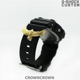 [送料無料]G-SHOCK,カスタムパーツ G-SHOCK ベビージー ジーショック カスタム パーツ 腕時計 カスタム シルバー CROWNCROWN parts-057