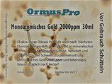 Zirbeldrüsen Combo XL Mono Gold 30ml 2000ppm & Mono Boron 30 ml 2000ppm