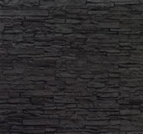 M 0981  Piedra Laja Negra Mate  Höhe: 130 cm Breite: 285 cm 3,7m²